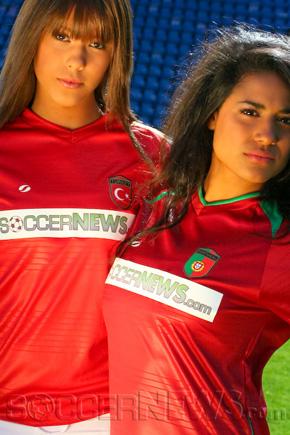 Soccer Babes - Turkey & Portugal