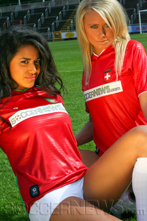 Soccer Babes - Portugal & Switzerland