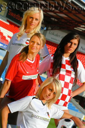 Soccer Babes - Group B: Austria, Croatia, Germany & Poland