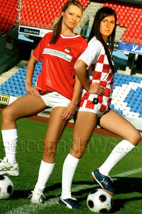 Soccer Babes - Austria & Croatia