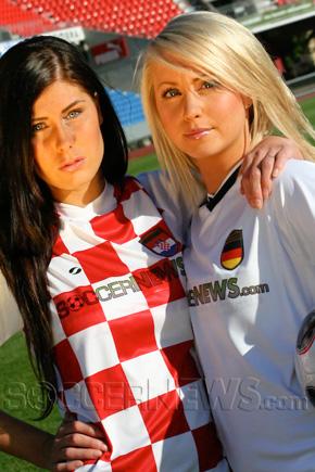 Soccer Babes - Croatia & Germany