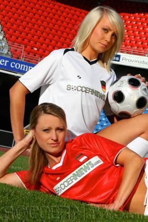 Soccer Babes - Austria & Germany