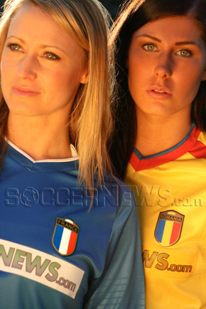 Soccer Babes - France & Romania