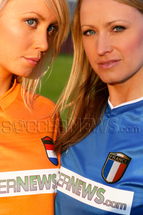 Soccer Babes - Netherlands & France
