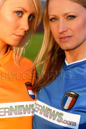 Soccer Babes - Netherlands & France