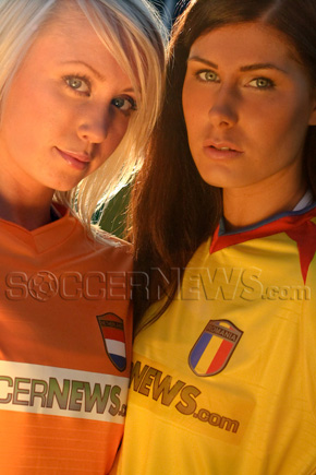 Soccer Babes - Netherlands & Romania