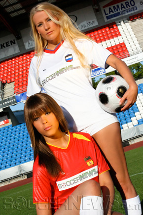 Soccer Babes - Spain & Russia