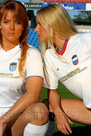 Soccer Babes - Greece & Russia