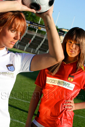 Soccer Babes - Greece & Spain