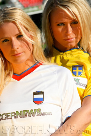 Soccer Babes - Russia & Sweden