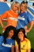 Soccer Babes - Group C: Netherlands, France, Italy & Romania