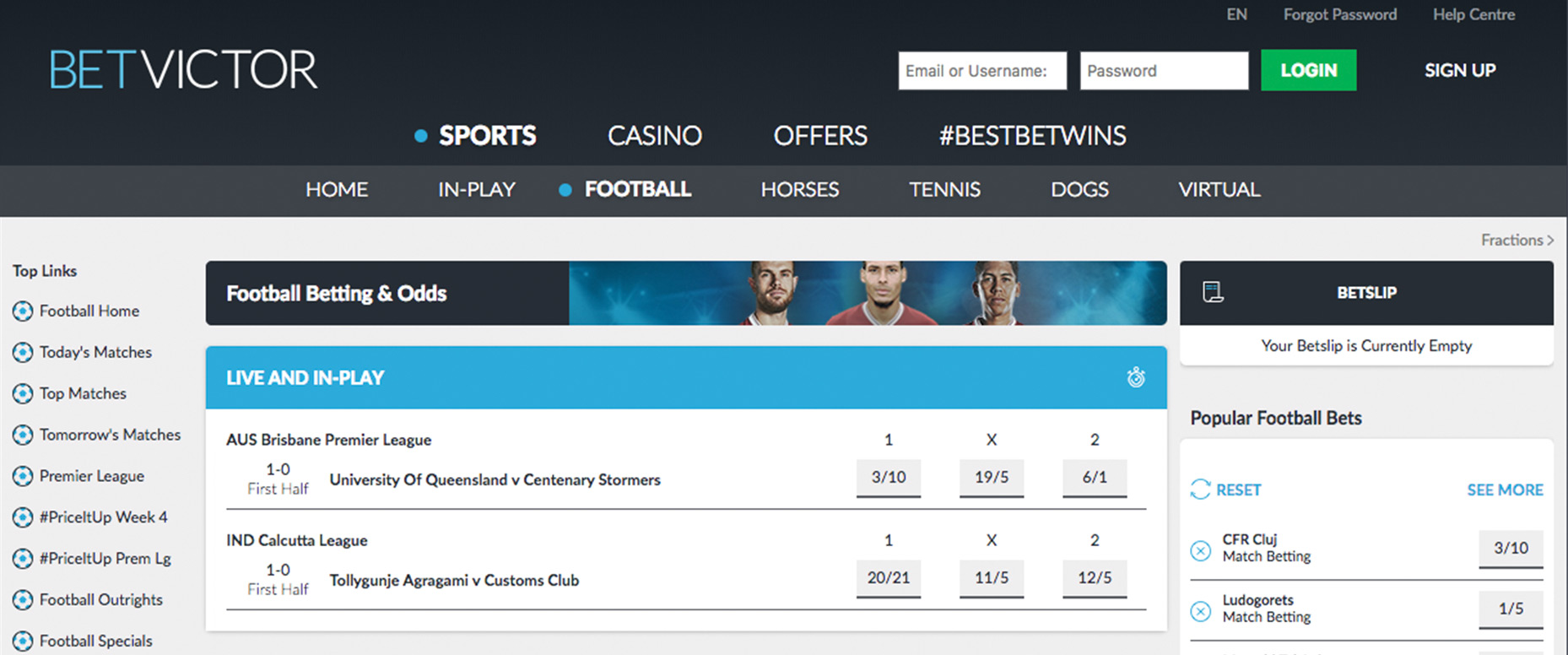 The largest bookmakers and reviews about them. Rating of online betting shops
