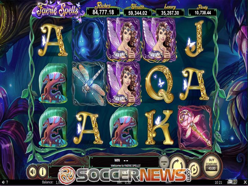 Faerie Spells Slot Machine