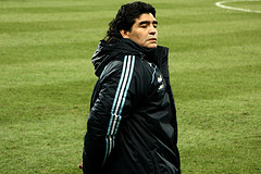 Maradona's struggling as Argentina head coach