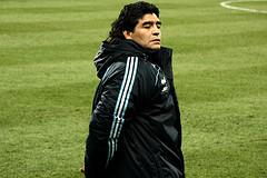 Maradona's struggling as Argentina head coach