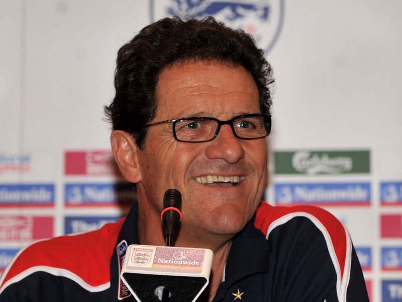 England Football Manager - Fabio  Capello