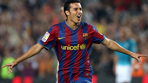 Pedro scored the decisive goal
