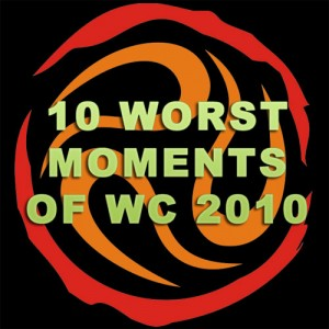 10 Worst World Cup 2010 Moments