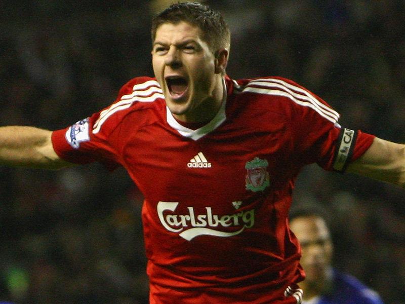 Steven Gerrard - Wallpaper Hot