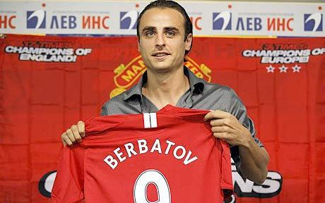 Dimitar Berbatov couple