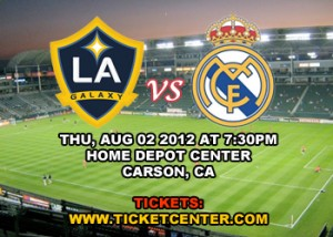 LA Galaxy vs  Real Madrid, Home Depot Center, CA