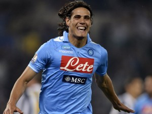 Arsenal manager Arsene Wenger has publicised his interest in Napoli talisman Edinson Cavani and Crystal Palace winger Wilfried Zaha.