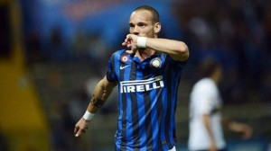 Inter playmaker Wesley Sneijder is on the verge of joining Galatasaray according to his agent