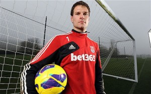Stoke keeper Asmir Begovic will be on the move this summer, but which club will he join?