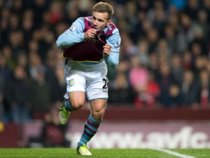 Aston Villa forward Andreas Weimann is currently in talks with the club regarding a contract extension.