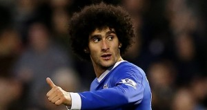 Belgium and Everton midfielder Marouane Fellaini has invited European champions Chelsea to come forth and submit a bid for him.