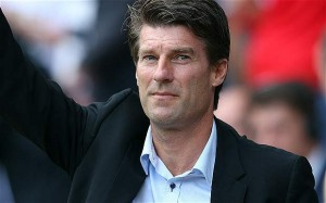 Michael Laudrup has become the first Swansea boss