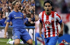 Atletico Madrid manager Diego Simeone has hinted he would be open to a swap deal involving Radamel Falcao and Fernando Torres.