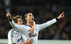 Cristian Ronaldo returns to Old Trafford with real madrid tonight hoping to knock his old team out of the Champions League