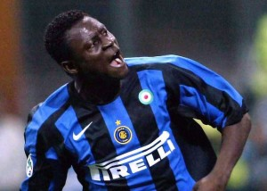 Former Internazionale Milano striker Obafemi Martins is on the verge of joining MLS side Seattle Sounders.
