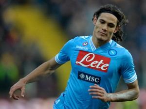Napoli president Aurelio De Laurentiis has put a £60 million price-tag on Uruguay international striker Edinson Cavani.