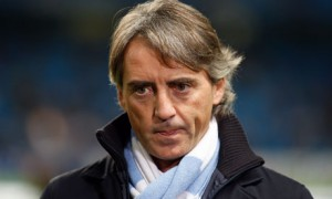 Manchester City boss Roberto Mancini was angry at some of the decisions in his sides 2-0 defeat at Everton