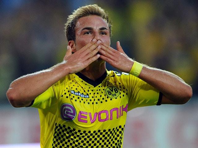 Borussia Dortmund ace Mario Gotze will join German Bundesliga champions FC Bayern Munich this summer.