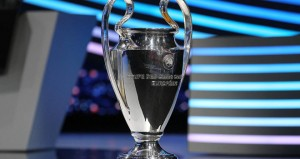Who will be contesting the Champions League final next month?
