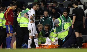 Gareth Bale suffered an Ankle injury as Tottenham drew 2-2 with Basel in the Europa League