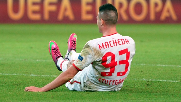 Manchester United striker Federico Macheda is hoping to seal a permanent switch to VfB Stuttgart this summer.