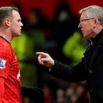 Wayne Rooney Sir Alex Ferguson Manchester United
