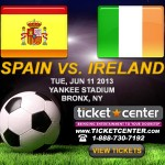 Spain vs Ireland at Yankee Stadium on June 11, 2013