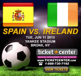 Spain vs Ireland at Yankee Stadium