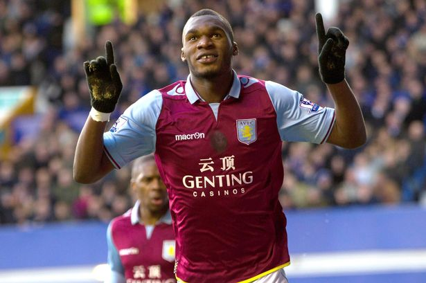Belgium international striker Christian Benteke has insisted he is very happy at Aston Villa.