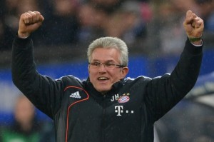 Bayern boss Jupp Heynckes could leave the club as a treble winner