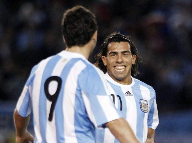 Juventus sporting director Beppe Marotta has confirmed the club's interest in Carlos Tevez than Gonzalo Higuain.