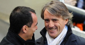 The two Roberto's Mancini and Martinez go head-to-head in the FA Cup, as Manchester City face wigan