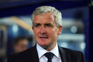 Mark Hughes has been named as Stoke's new boss