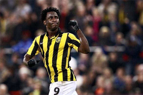 The agent of Vitesse Arnhem forward Wilfried Bony has revealed the club have placed a £10 million price-tag on the Cote d'Ivoire international.