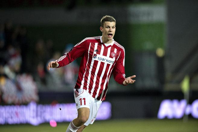 Aalborg Boldspilklub striker Nicklas Helenius has publicised his desire to leave the Danish Superliga side this summer.